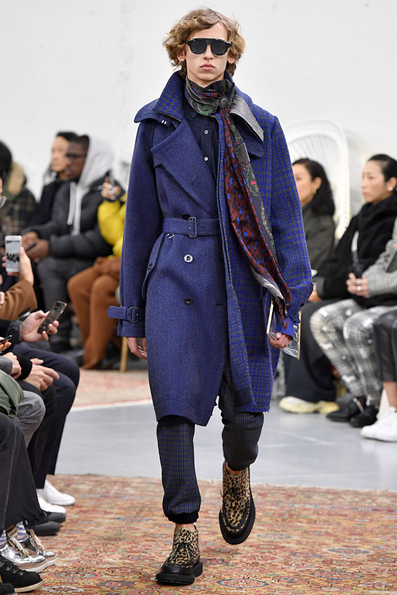 Sacai FW19 by Chitose Abe. Sacai's mix of textures is crazy, i love it.
