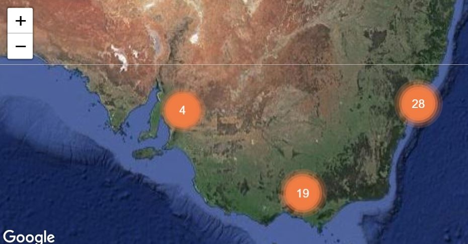 GPS Tracking - workM8 Summary staff view