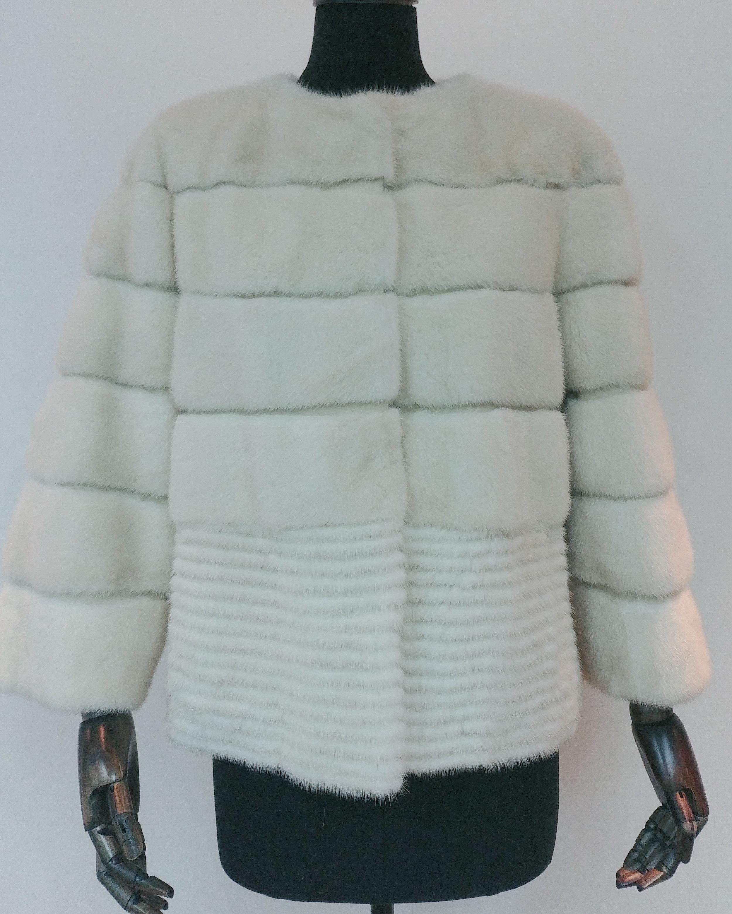 PJ52845FK - Pearl Mink Jacket US$850, special price: US$650