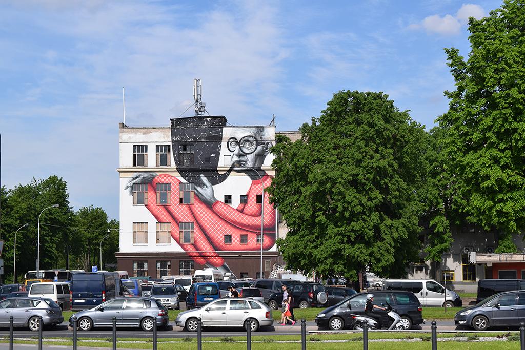 Street Art in Kaunas, Lithuania