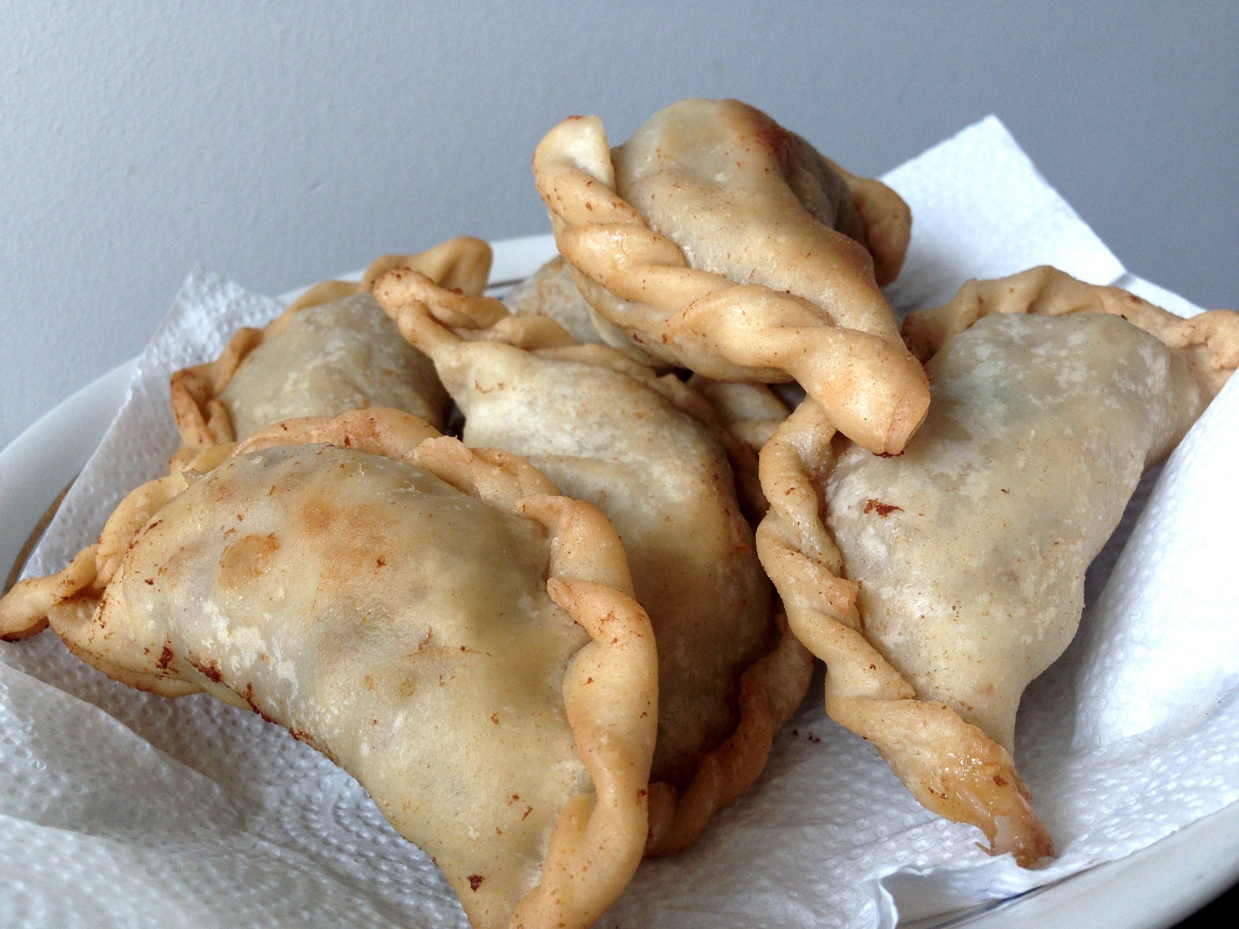 Fried empanadas. Photo by Allison Yates
