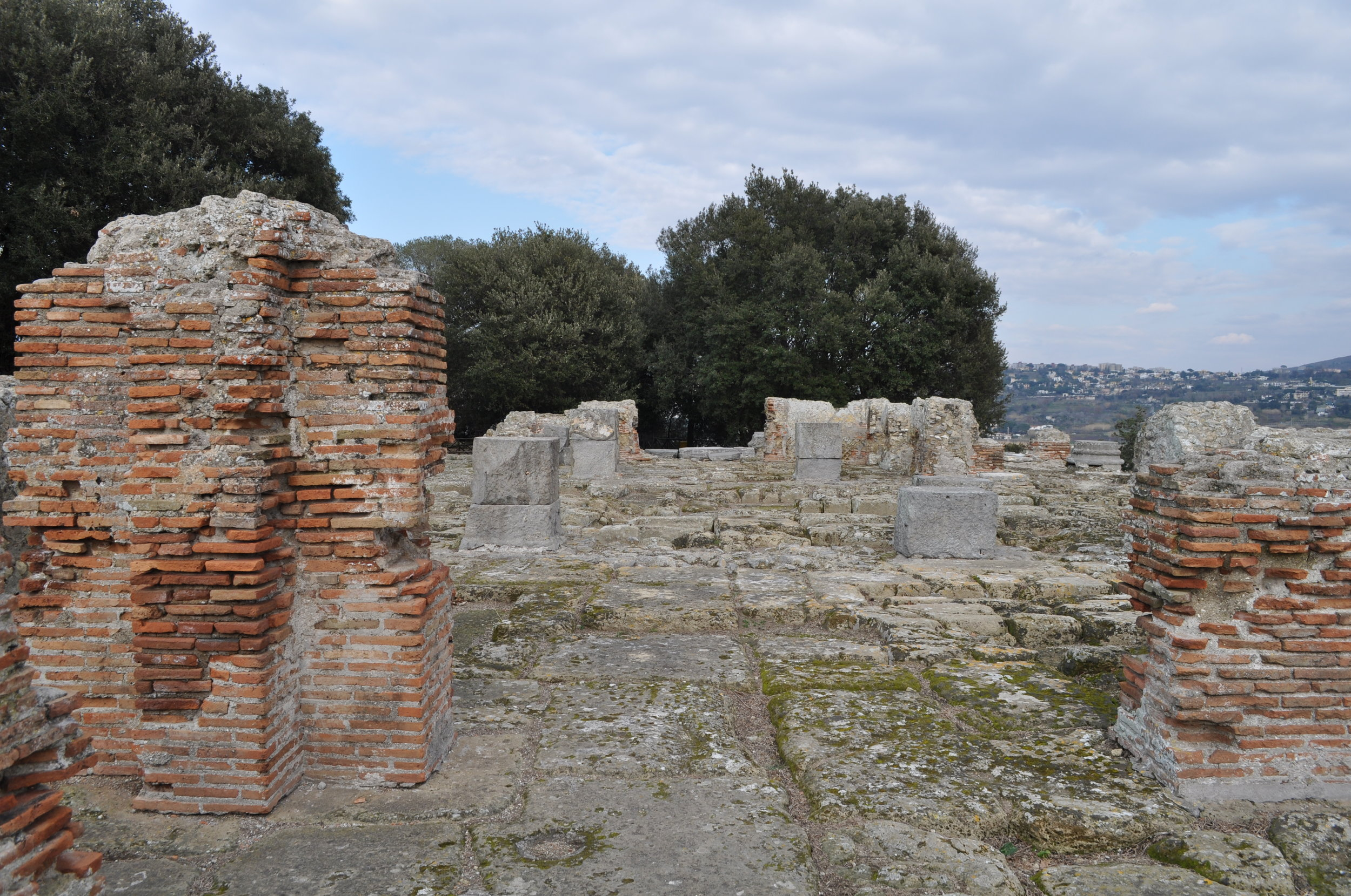 Daedalus' Temple of Apolla, Cumae, Italy. By Rosina Khan