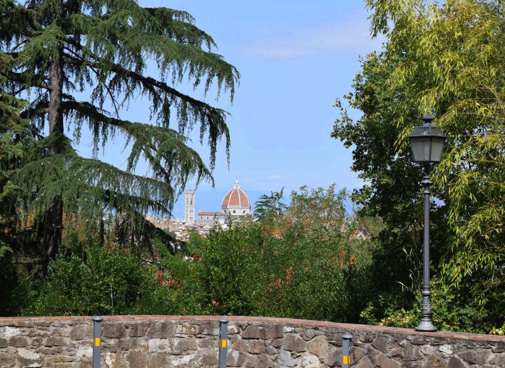 The view from Parca della Villa di Rusciano