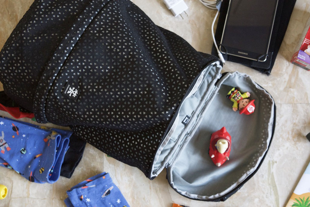 Crumpler backpack used as a carry-on