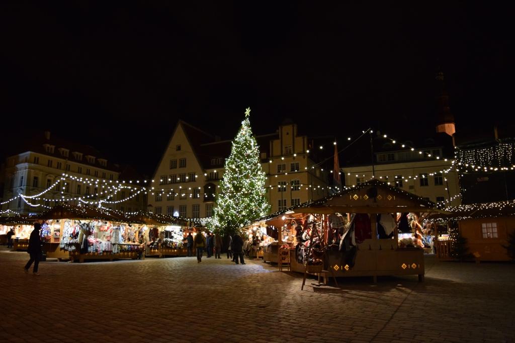 Tallinn, Estonia Christmas market