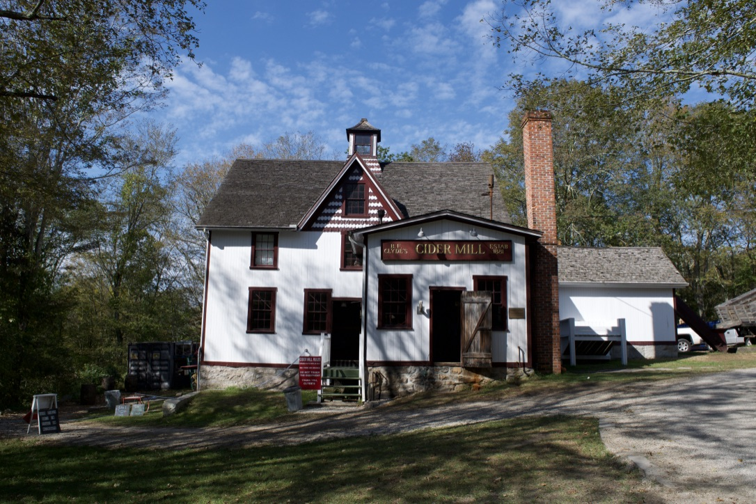 Clyde's Cider Mill, a foodie favorite in Mystic, CT.