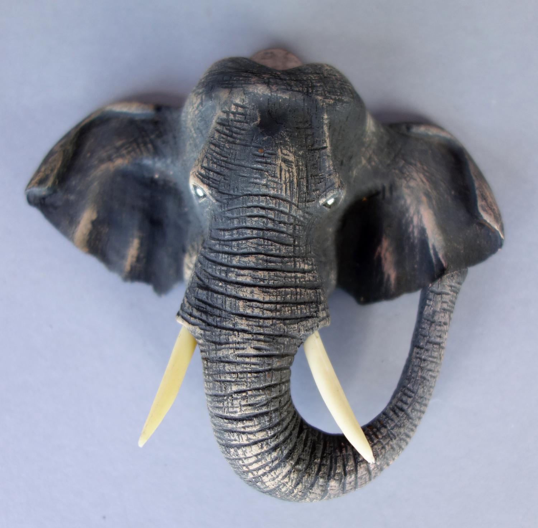 Elephant Head Wall Sculpture 5