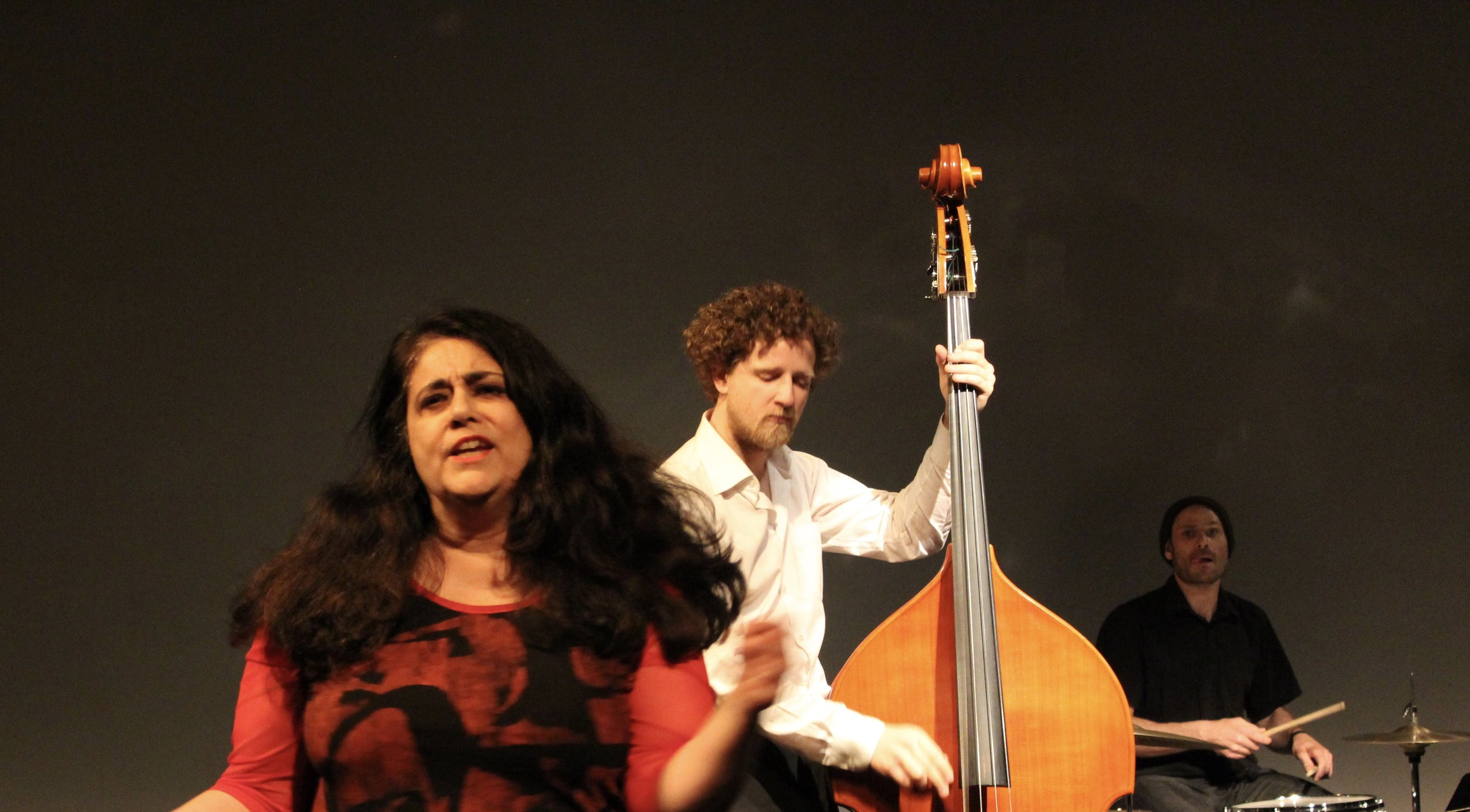 Aruna, Chris and Raphael, Aki Theatre, Alluvial Plain