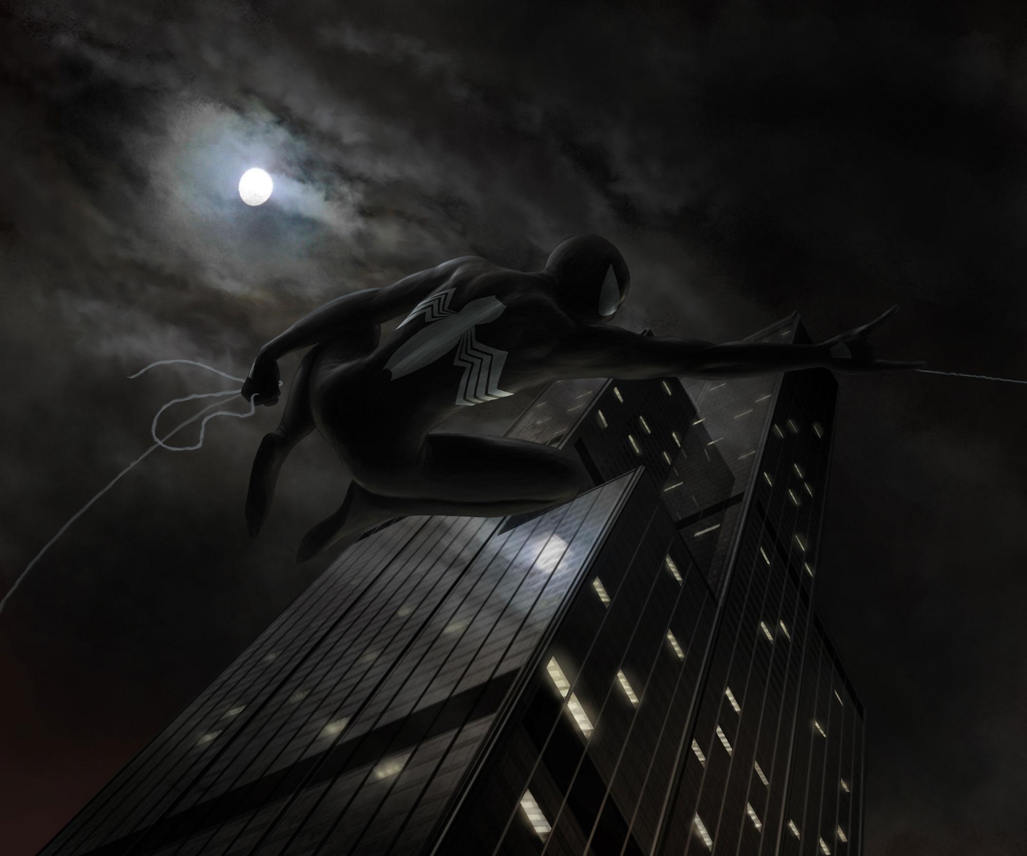 Spider's moon - La lune de l'araignée