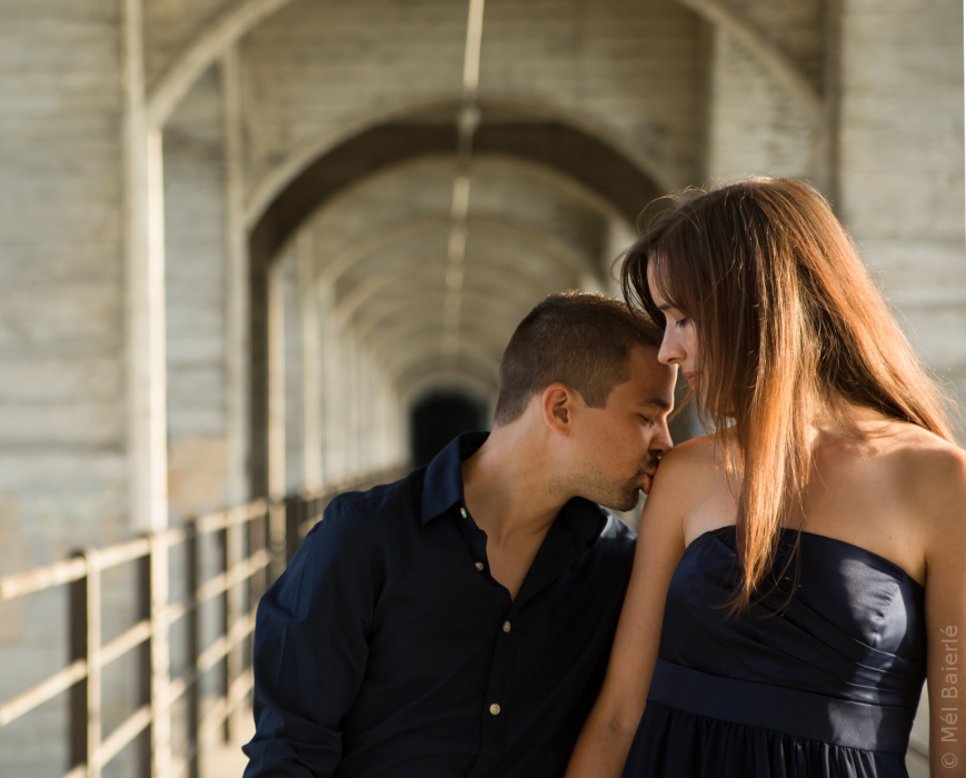 Service photographique en couple