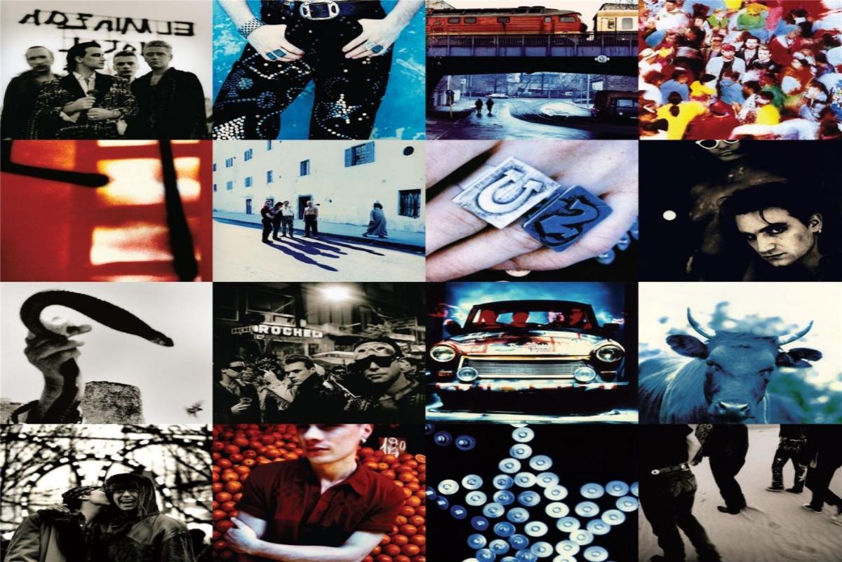 u2  Achtung Baby  album cover