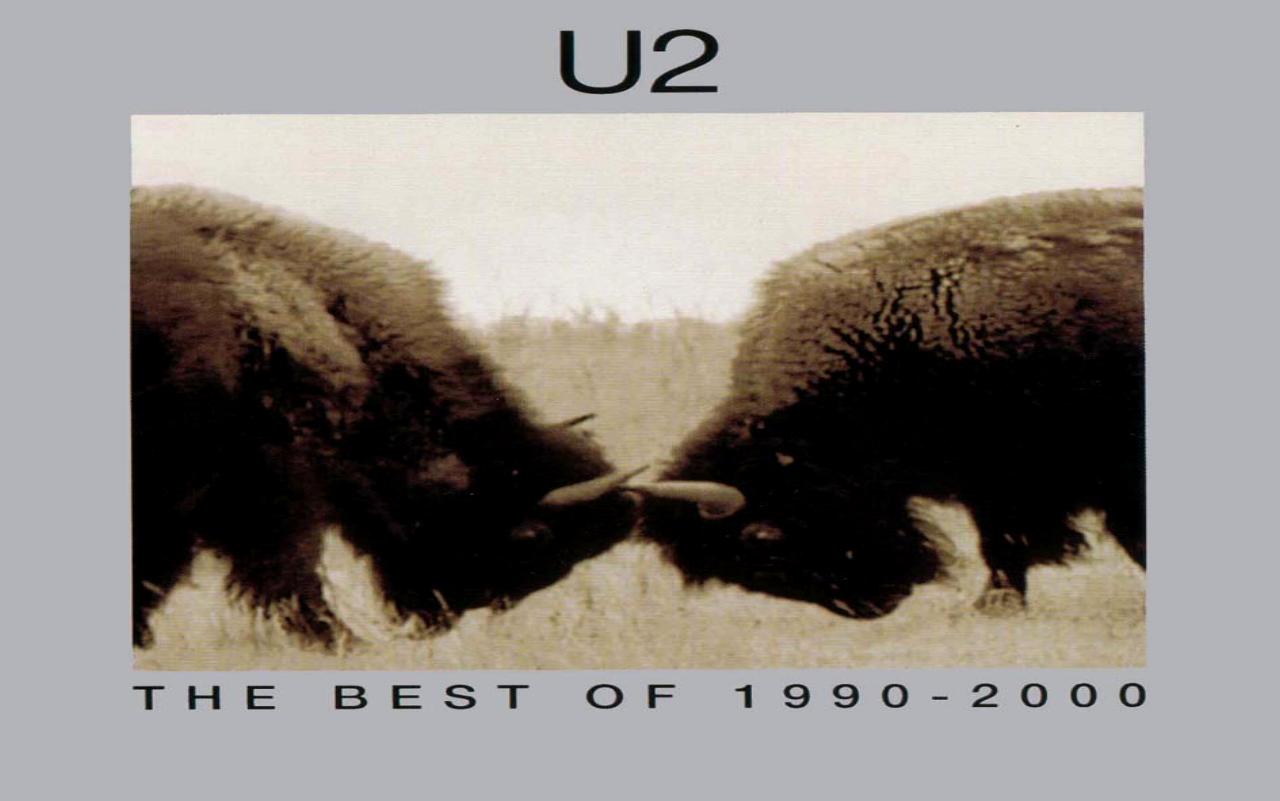 u2  The Best of 1990-2000  album cover
