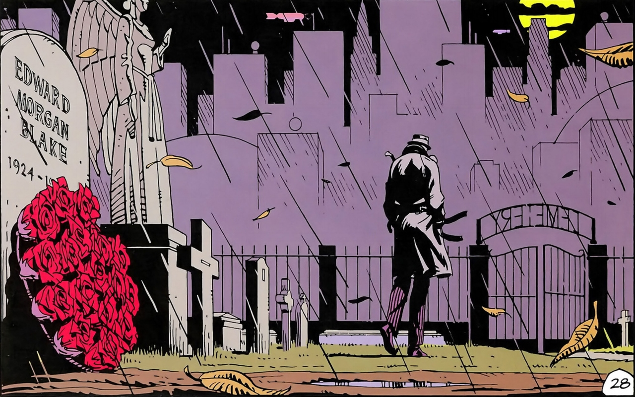 Watchmen  Art by Dave Gibbons and John Higgins