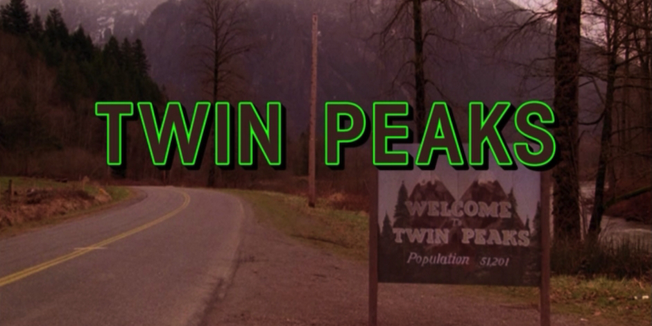 Still from the Twin Peaks opening