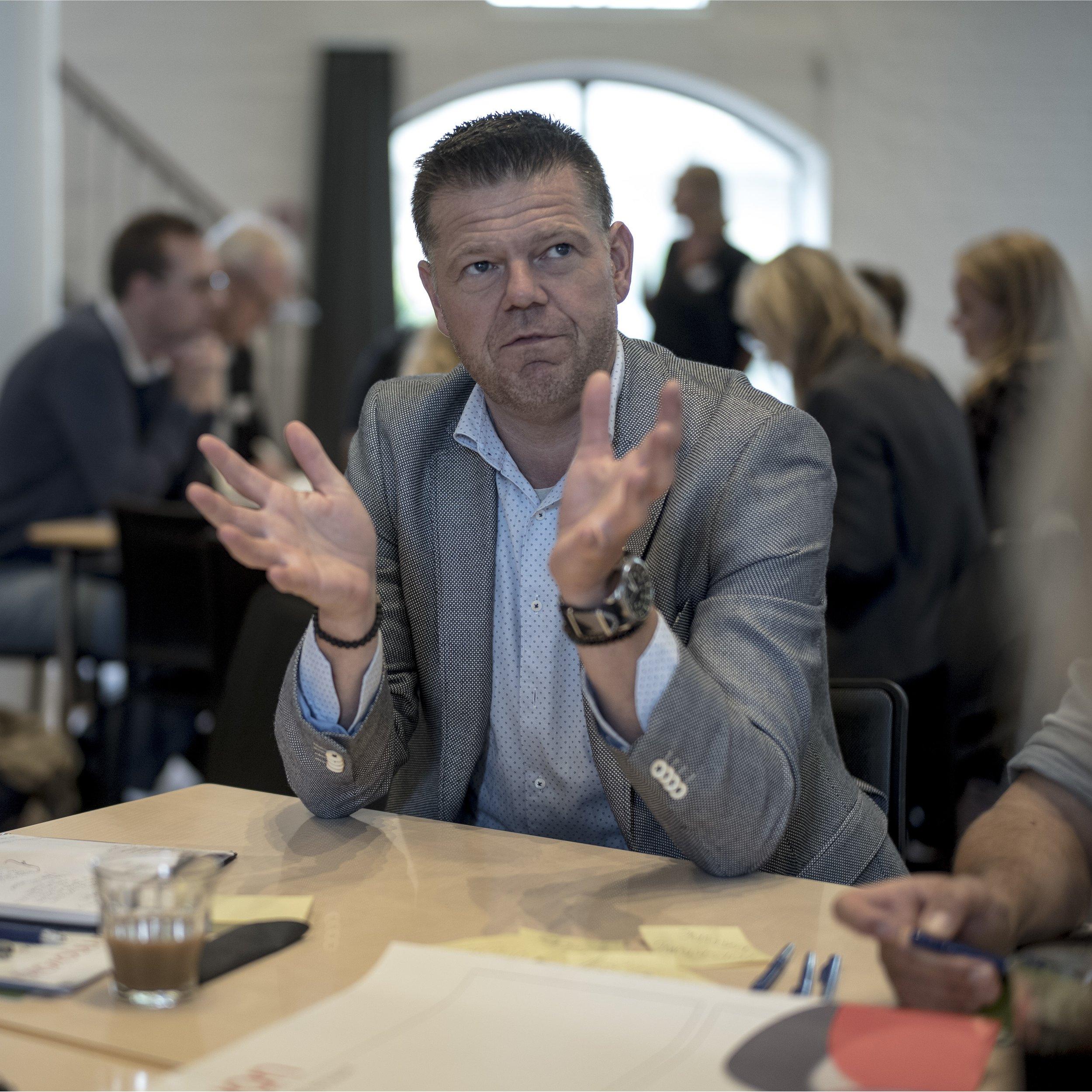 Foreningen Nydansker - 'Manglende samarbejde mellem de frivillige organisationer' v. direktør Torben Møller-Hansen