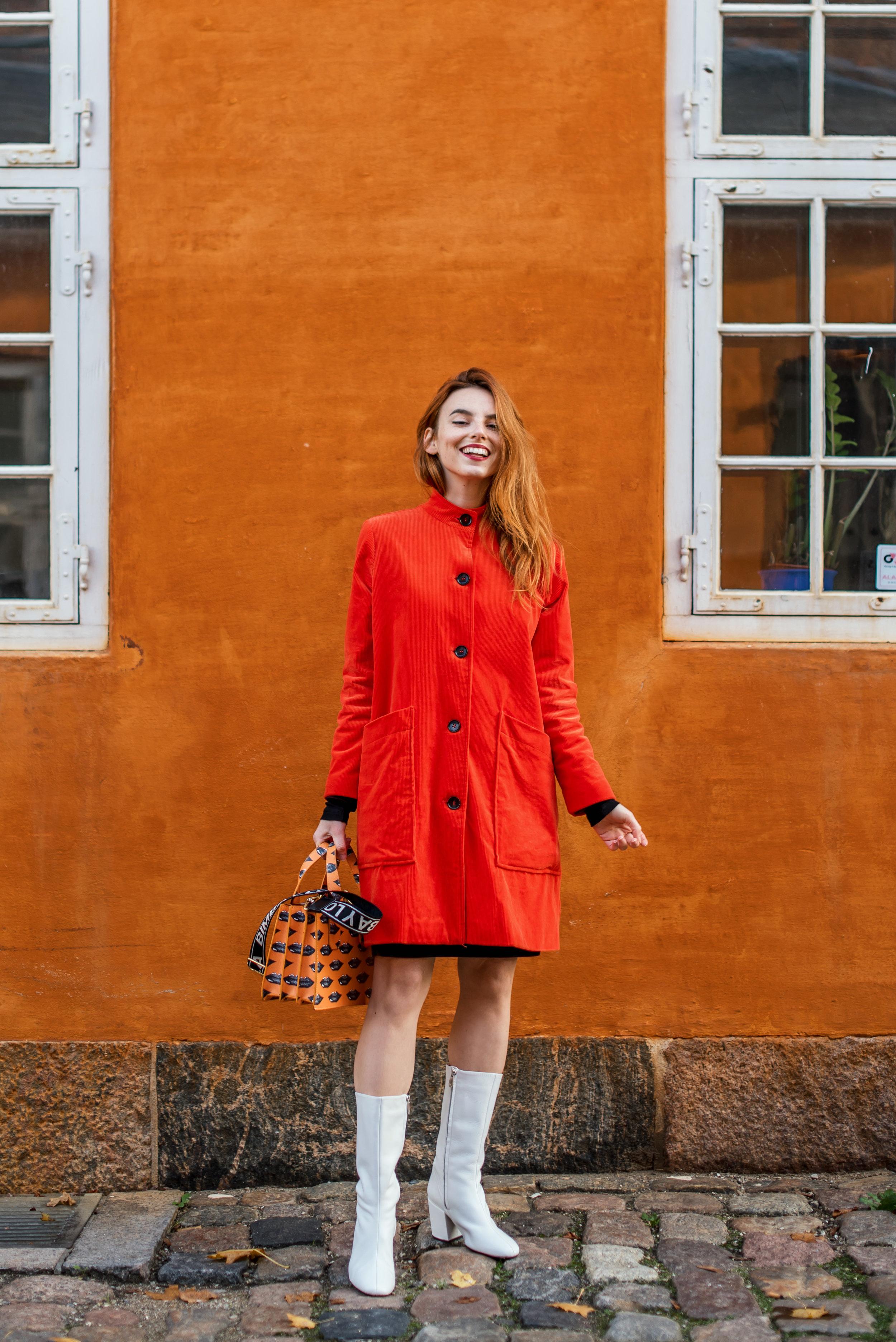 Ganni coat // Bimba y Lola bag // Mango boots
