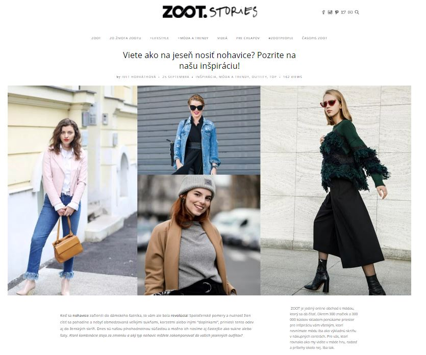 ZOOT Stories