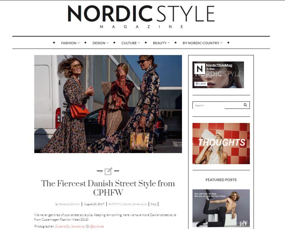 Nordic Style Magazine - CPHFW SS18 Streetstyle