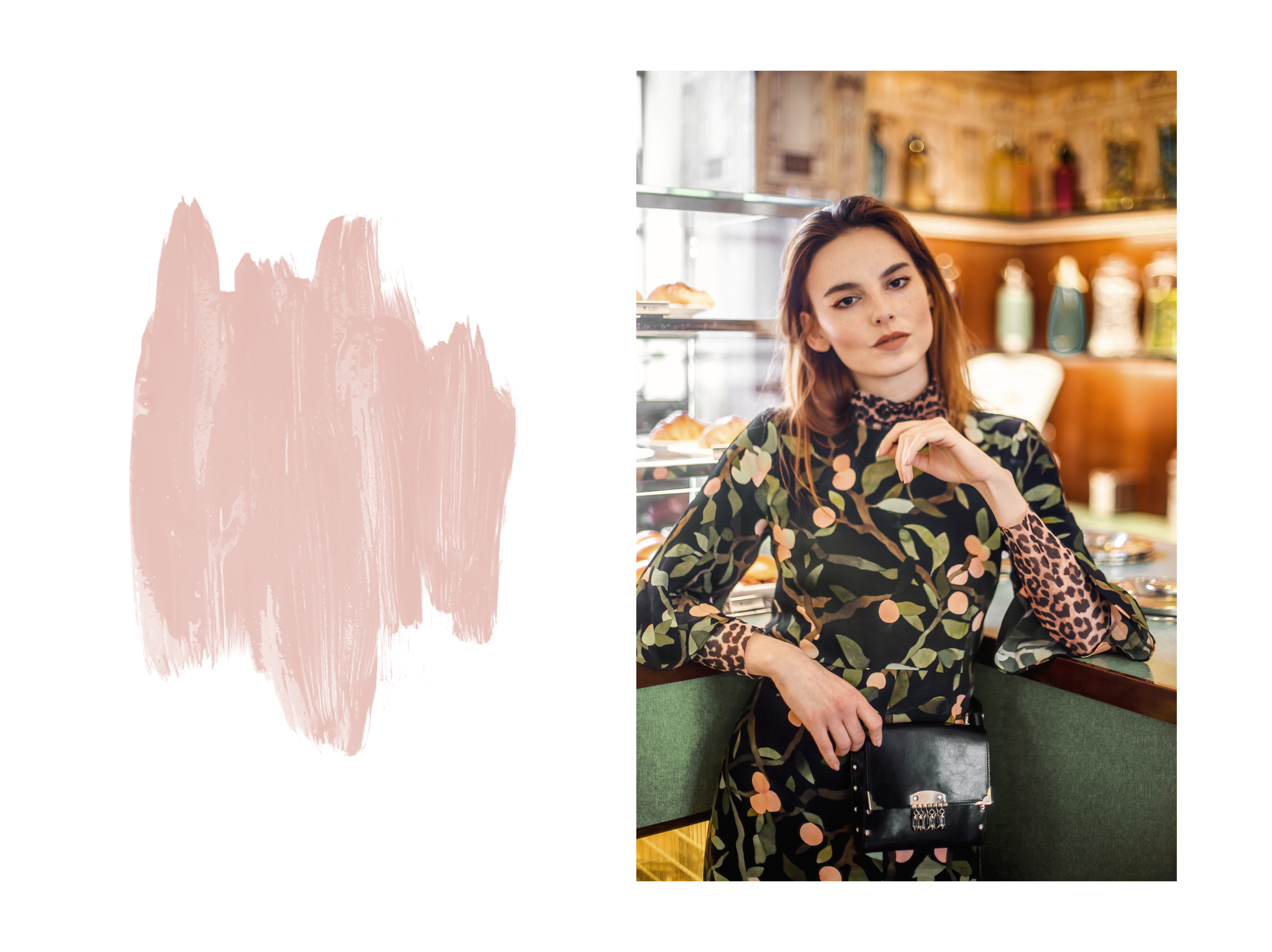 Vivien Babicova bag // Stine Goya dress // Ganni turtleneck
