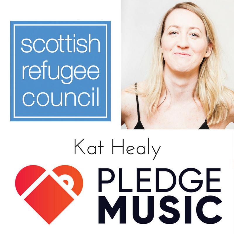 kat healy music pledge music scottish refugee council