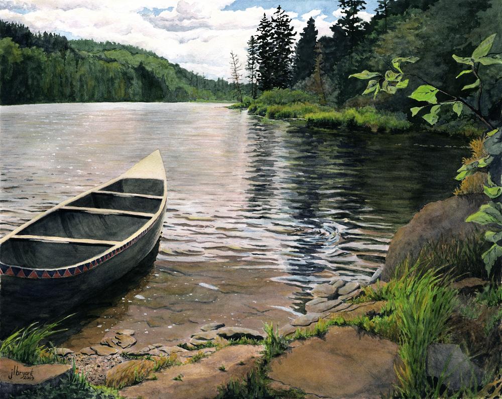 """South Lake  watercolor : 14 x 18"""" : print $185 : original sold"""