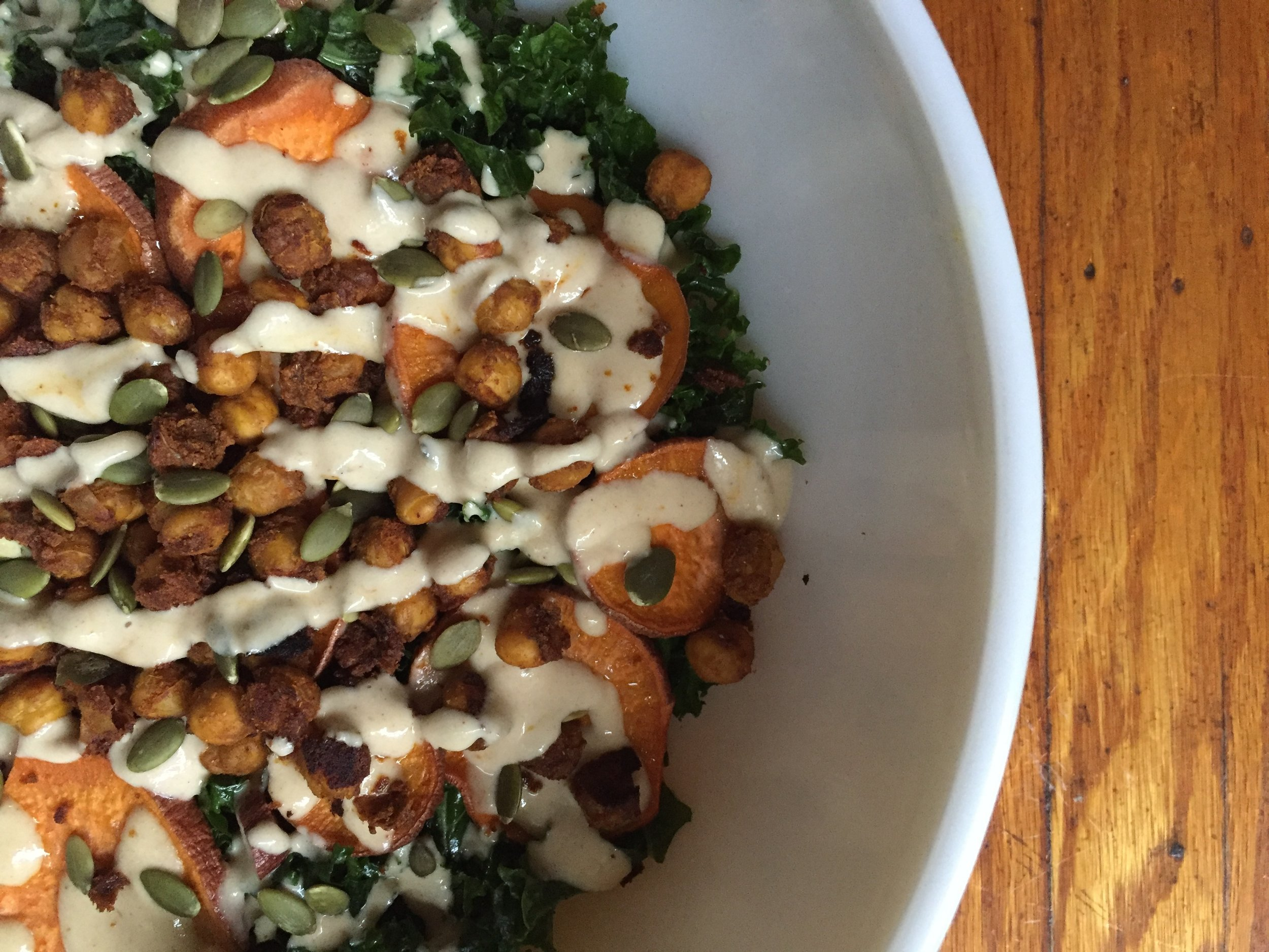 Sweet Tahini Dressing