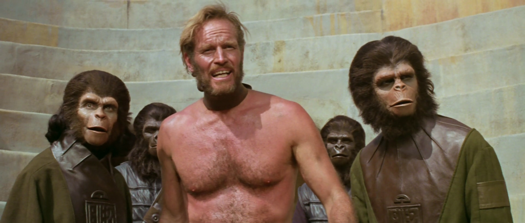 27. Planet of the Apes