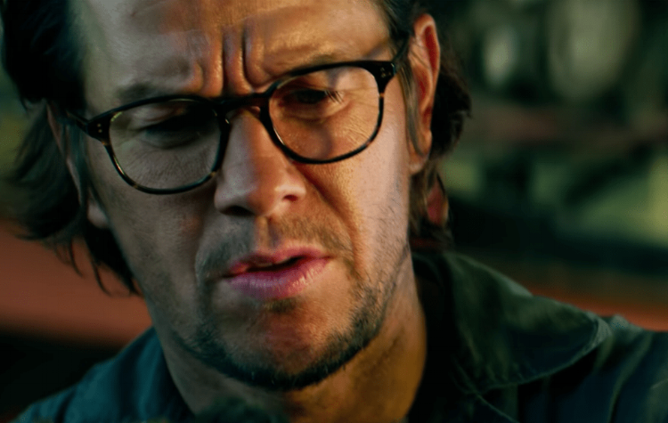 Actual footage of Mark Wahlberg reading the script.