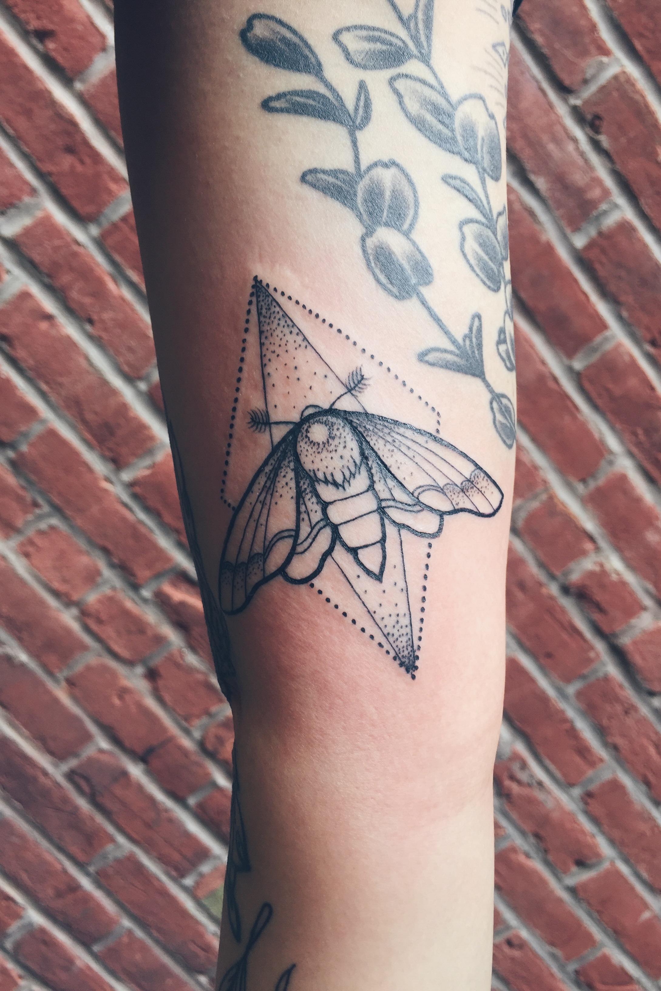Tattoo by  Sarah Jade Beauregard
