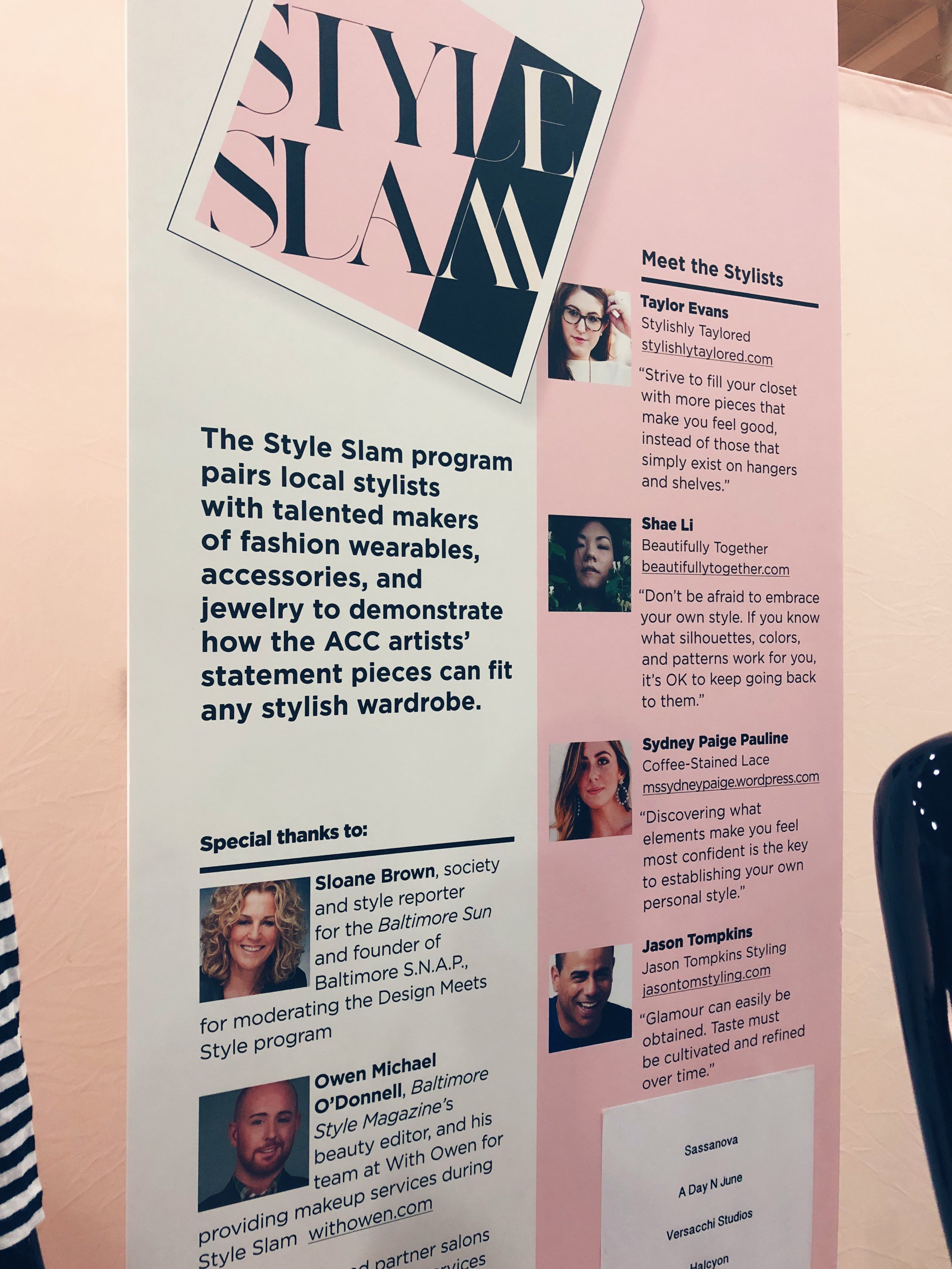Special thanks to  Sloane Brown  and  Owen Michael O'Donnell . Stylists  Taylor Evans ,  Shae Li ,  Sydney Paige ,  Jason Tompkins .