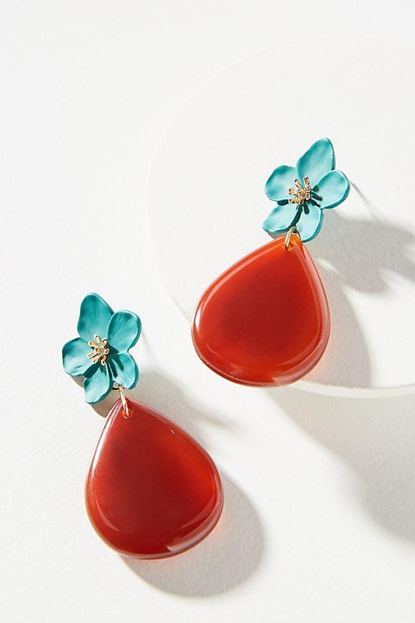 Orchard Blooms Drop Earrings - Anthropologie