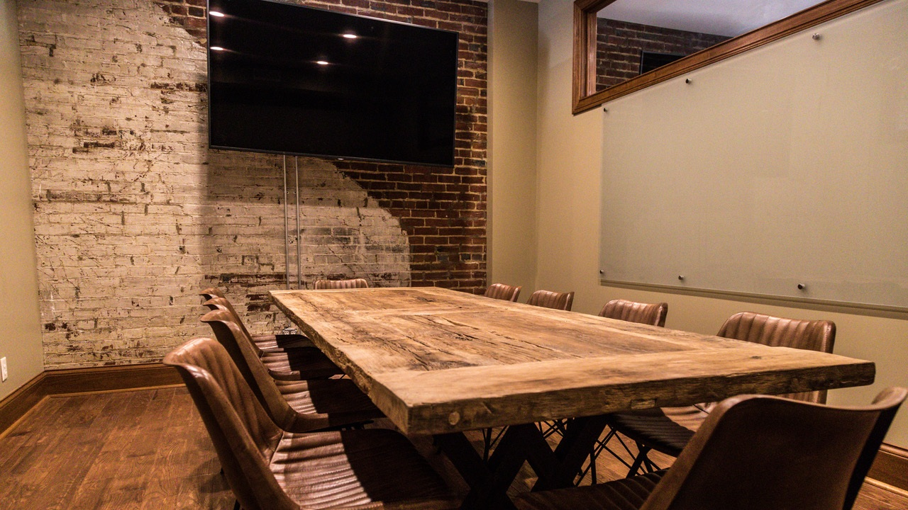 CONFERENCE ROOMS - $150 Half Day (8:00-12:00 or 1:00-5:00) $290 Full Day (8:00-5:00)OR HOURLY RENTAL (Less than four hours)$40/Business Hour$60/After Business Hours(Photo Courtesy of T.J. Barr)