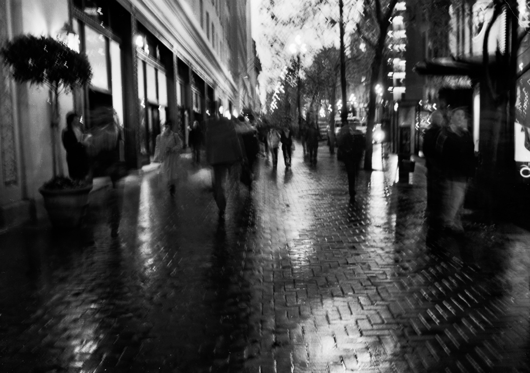 Market St. Haze After the Rain, San Francisco