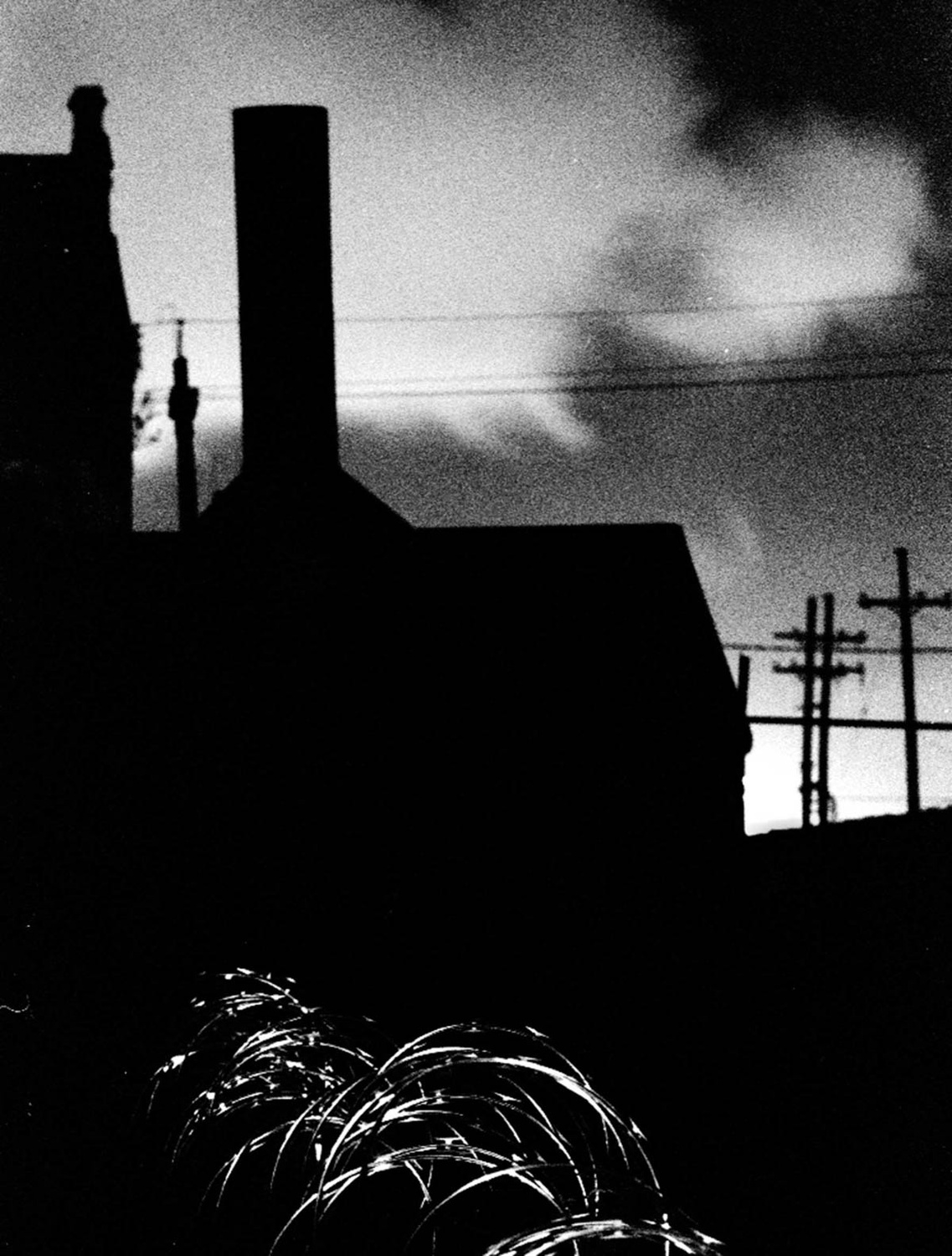 Barbwire Night, New Orleans