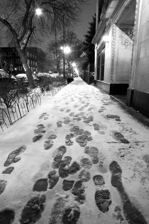 Winter Clean Street