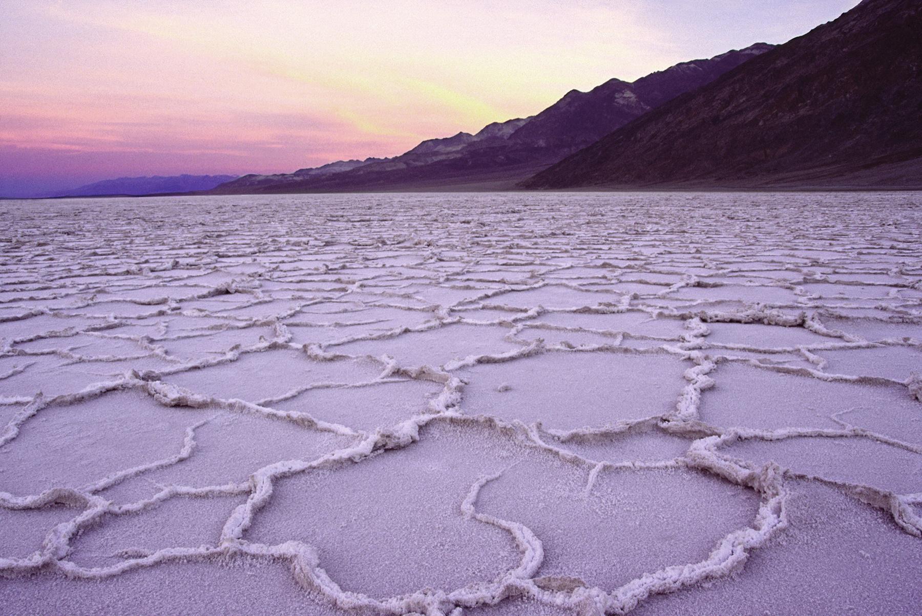 Badwater Basin Sunrise, Death Valley California