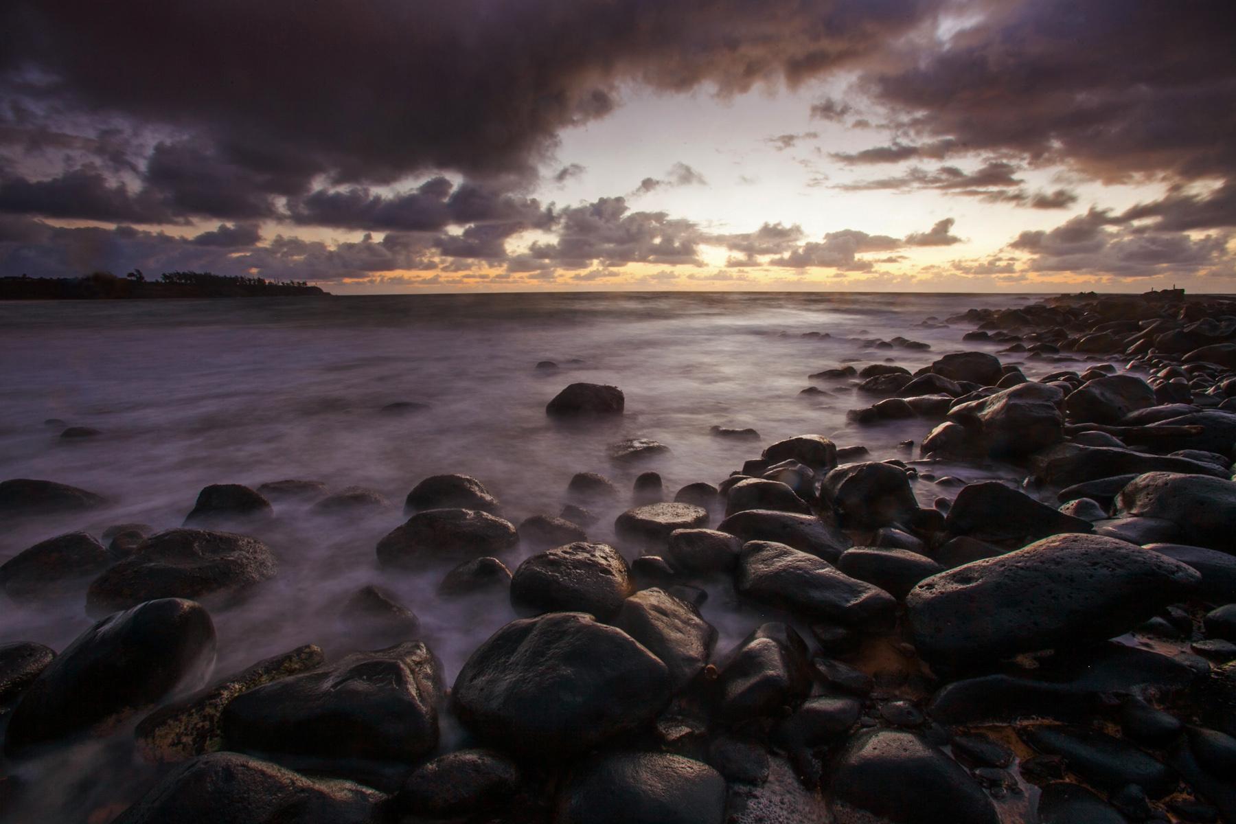 Sunrise in Kapa'a, Kauai