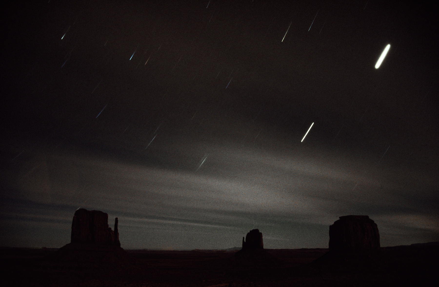 Star Lasers, Monument Valley, Arizona