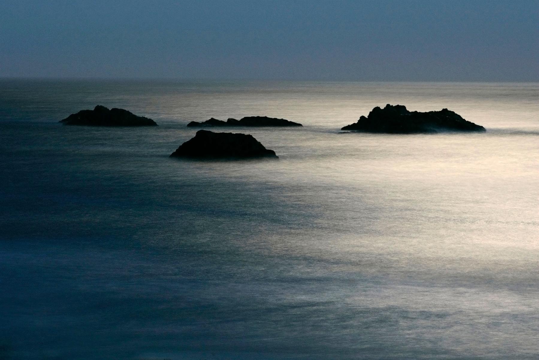 Moonlit Sea, Oregon