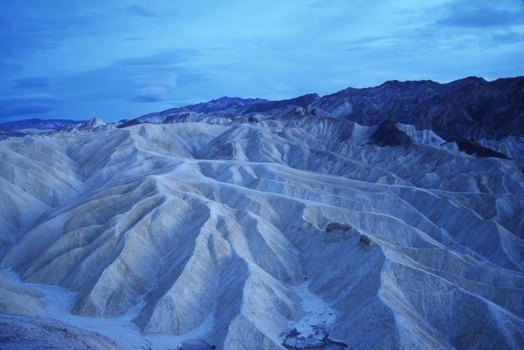 Zabriskie Point, Death Valley California