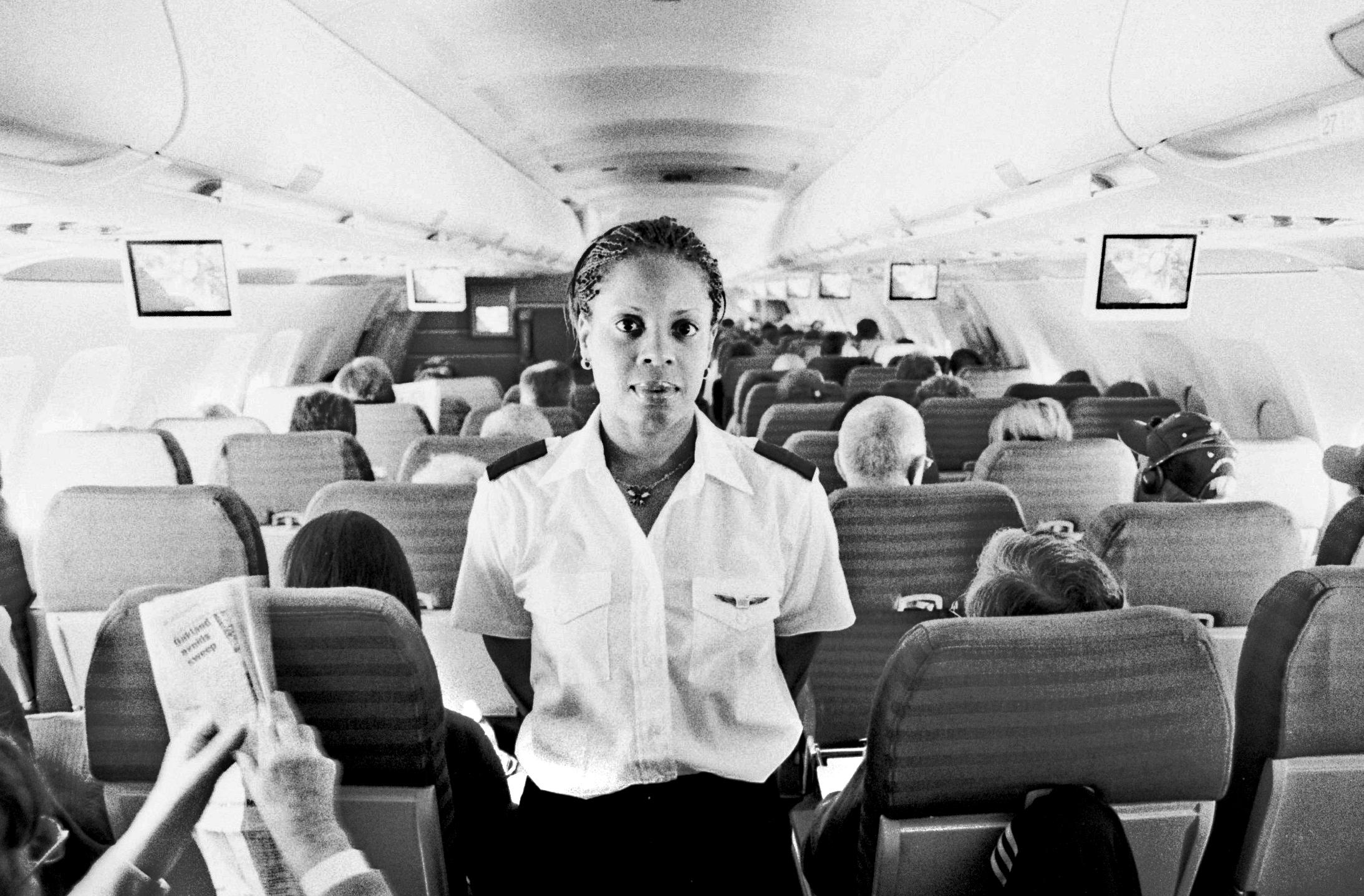 Flight Attendant, SF to Philly