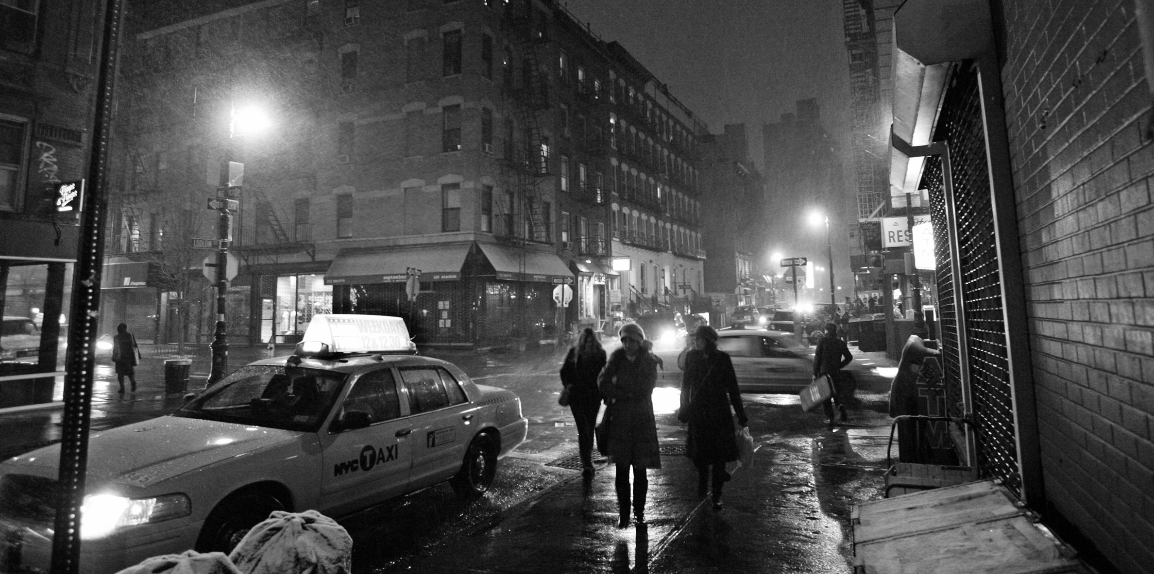 Winter Night in Manhattan