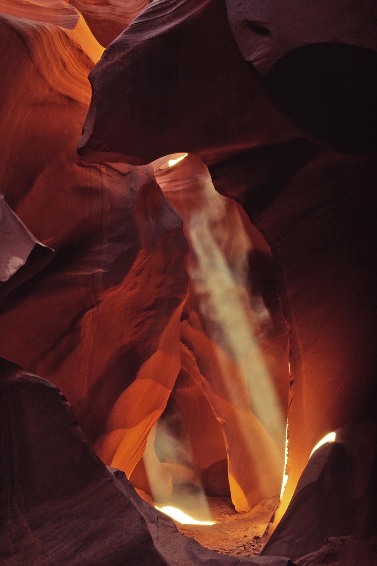Lightshafts, Antelope Canyon, Arizona