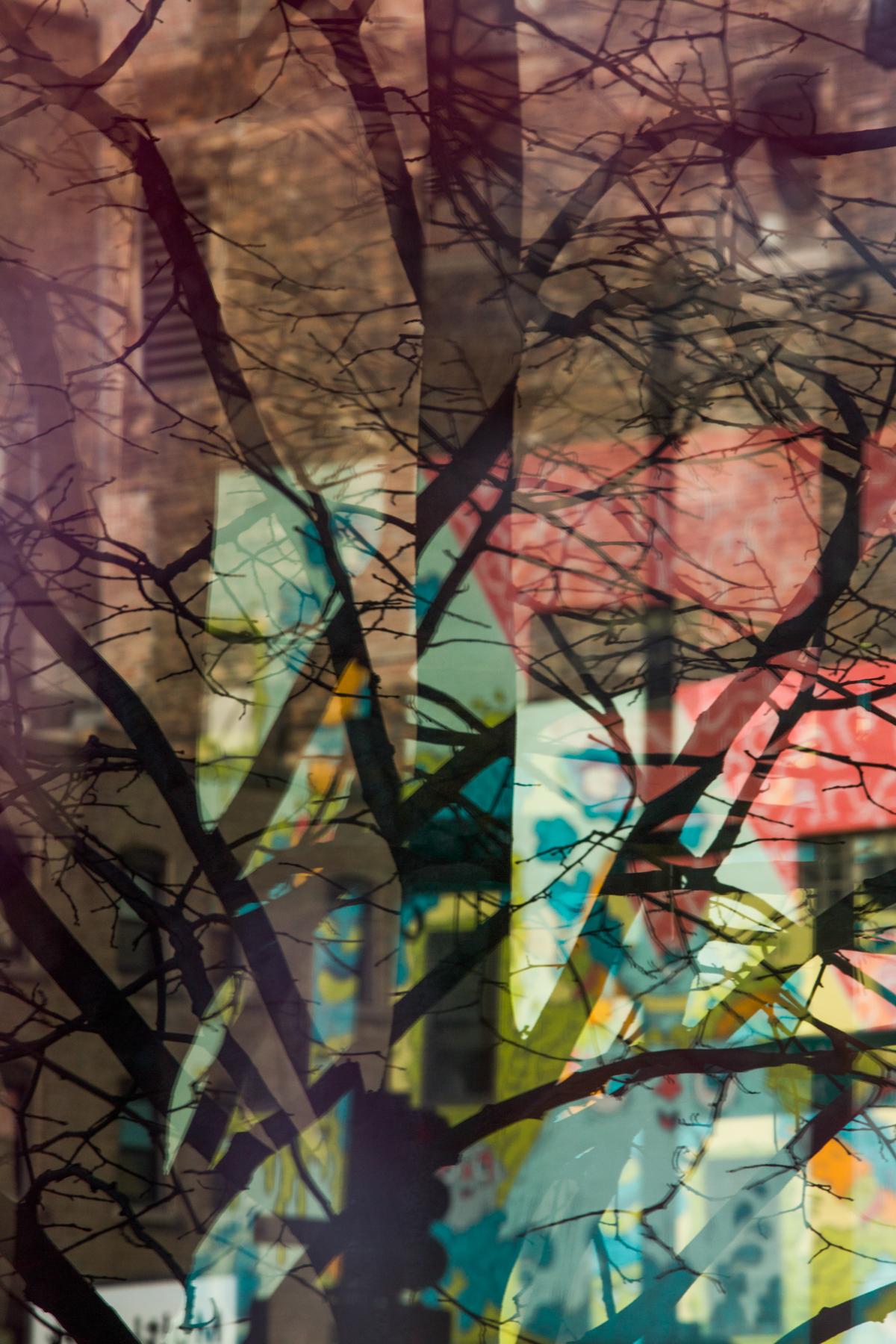 Pastel Palette Tree