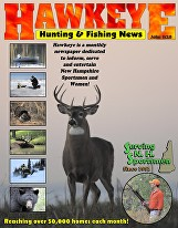 July, 2016: - Jeff provides commentary on the NH bobcat season proposal, the NH Fish and Game Department, and the current state of Sportsmen's voices in legislation. Featured in the editorial section of NH hunting & fishing news magazine The Hawkeye.