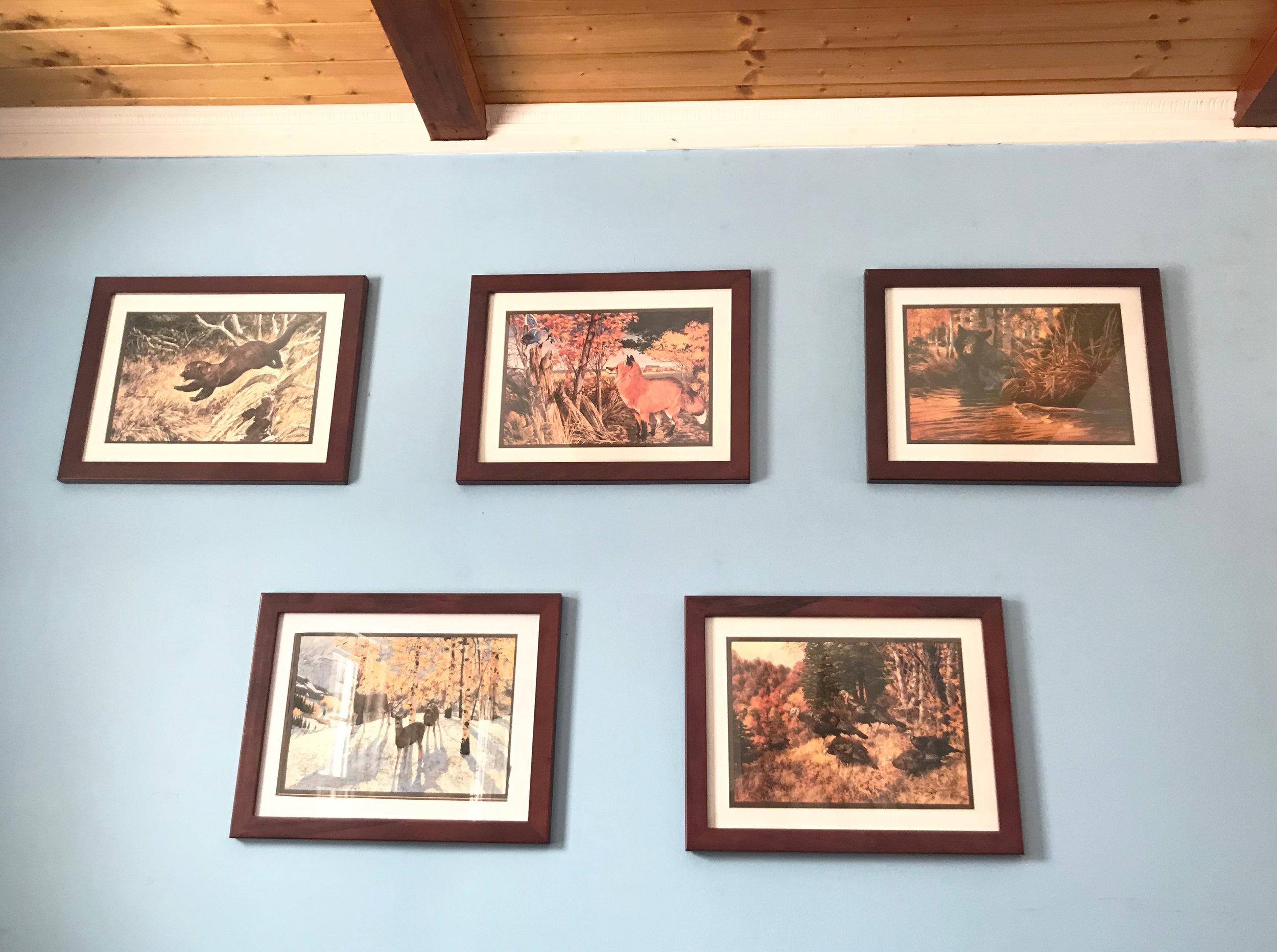 Remington Wildlife Prints by Various Artists (Photo | Furbearer Conservation)