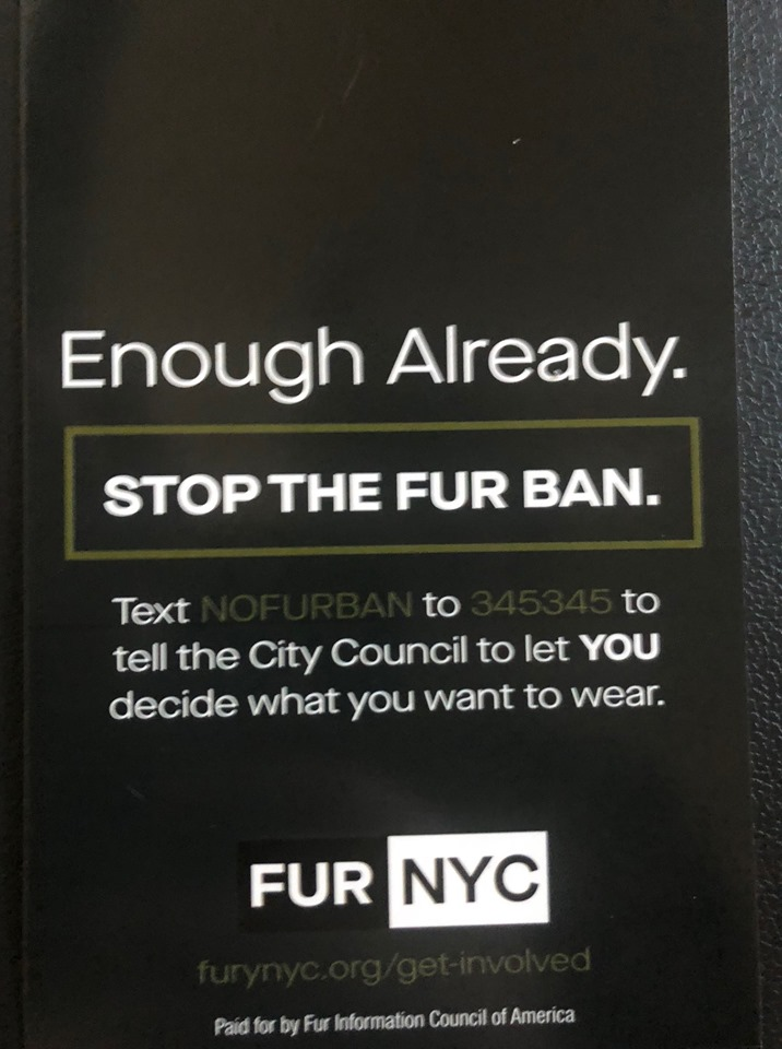 (Photo | Fur NYC Facebook)