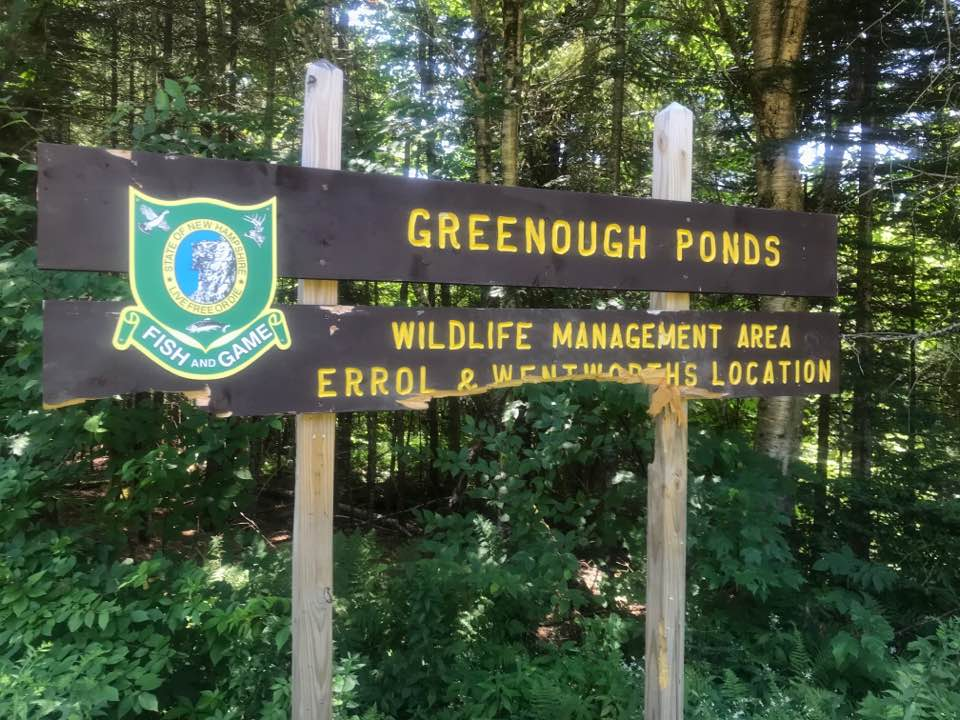NH Fish & Game reported via social media last week that a wayward bear destroyed conservation signage. (Photo | NH Fish & Game Facebook)