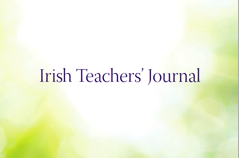 Click to read article in Irish Teachers' Journal