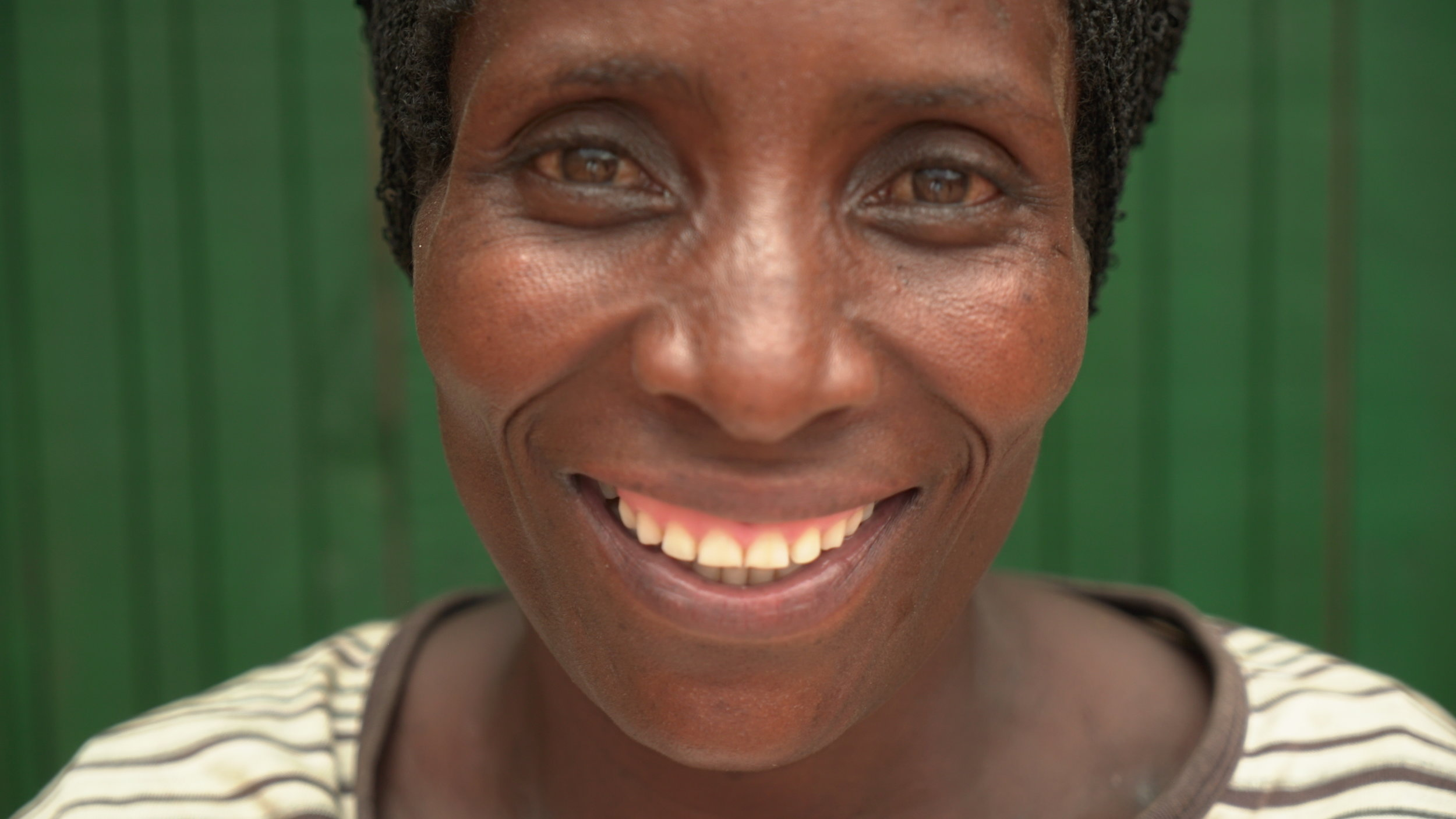 Paskazi - is 45 years old and has 3 children. With previous baking experience, she is a great asset to the team and one of the best bread kneaders. When the bakery is not in operation she makes around $7 per month.